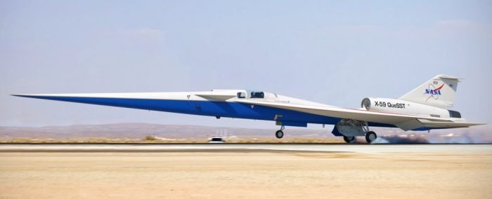 NASA's 'Quiet' Supersonic Jet