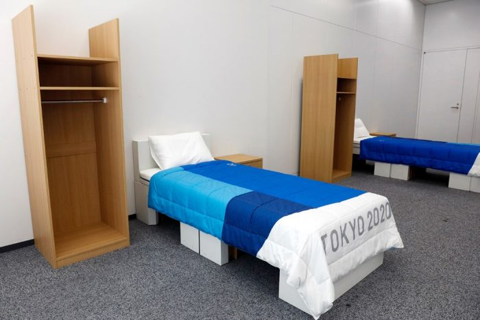 The Athletes's bed on Tokyo 2020 Olympic are totally eco.
