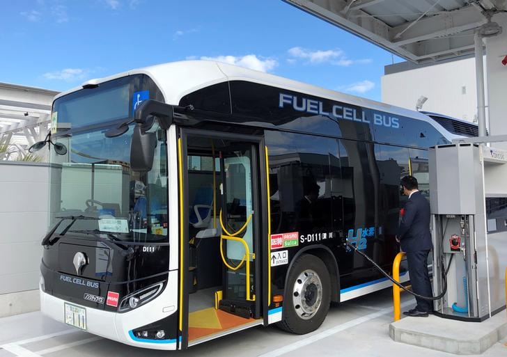 Tokyo Gas opens new hydrogen station ahead of Olympics