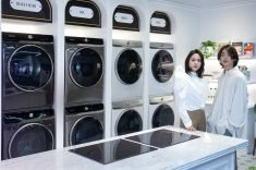 Samsung rolls out AI-powered washer, dryer