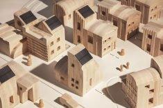 IKEA's Space10 Builds an Eco-Friendly Miniature Village