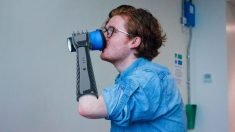 "A 3D-printed prosthetic that is capable of providing ""tactile feedback for a low cost."""