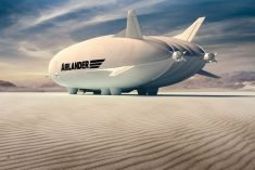 The Hybrid Air Vehicles Airlander 10 Airship