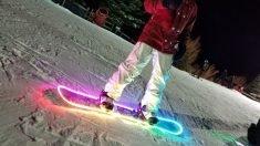 The Famousmods LED Snowboard Lighting Kit
