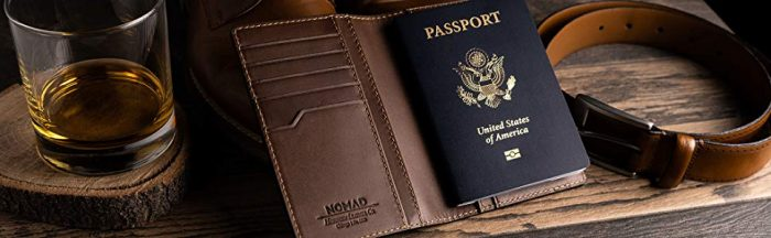 The NOMAD Traditional Passport Wallet