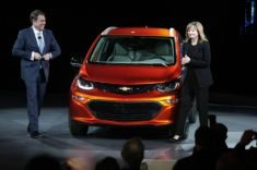 GM unveils long-range battery electric car