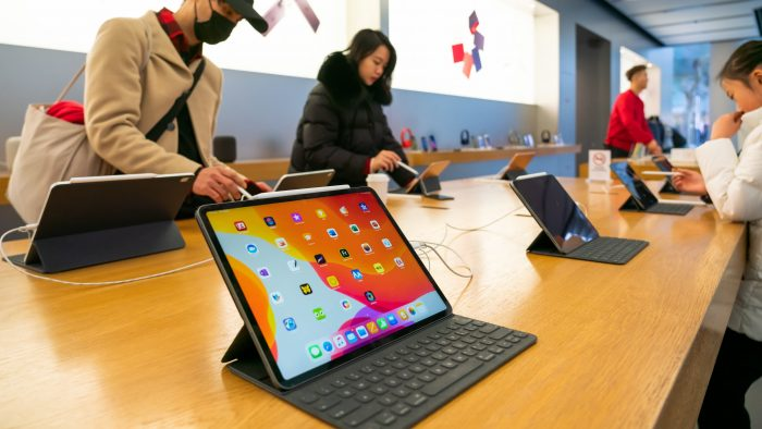 Surge runs against Apple's iPad production shortages caused by coronavirus response