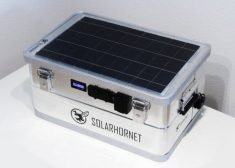 The 'SolarHornet' Portable Outdoor Power Supply Has a 1,200Wh Capacity