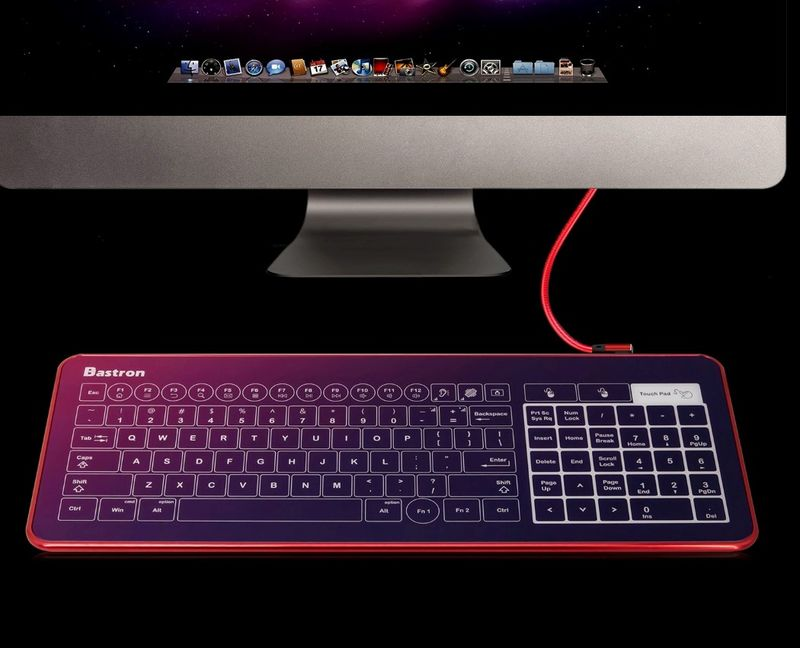 The Bastron Glass Touch Smart Keyboard
