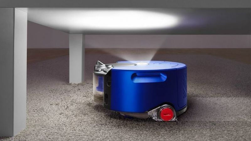 The Latest Dyson 360 Heurist Vacuum
