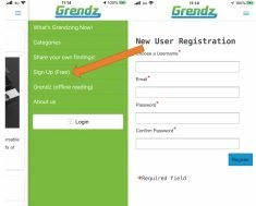 How to sign up (free) via our mobile app and understanding Legend level