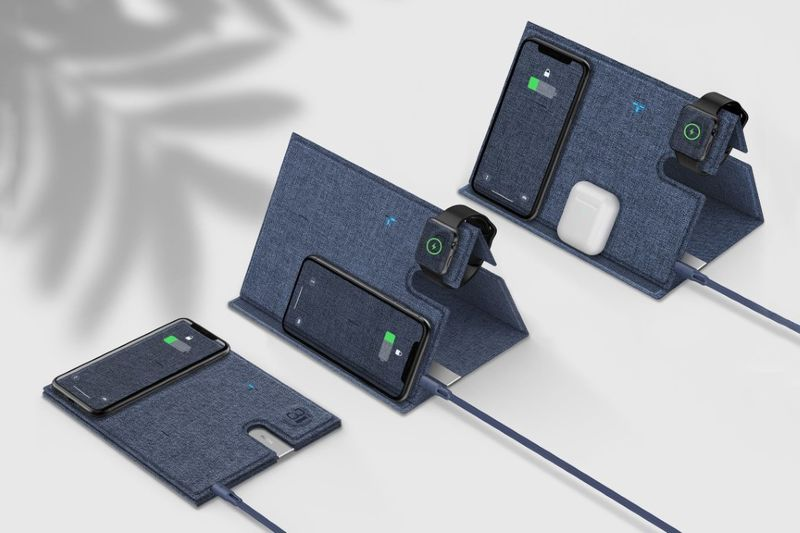 The 3-in-1 Wireless Charging Mat