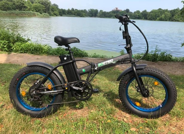 The ECOTRIC Fat Tire Folding e-Bike