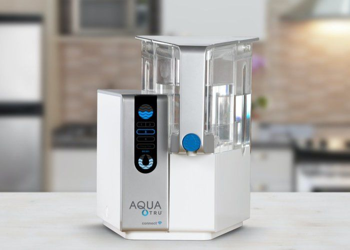 The AquaTru Connect Water Purifier Removes 82 Contaminants