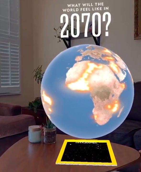 National Geographic Created Its First Augmented Reality Cover