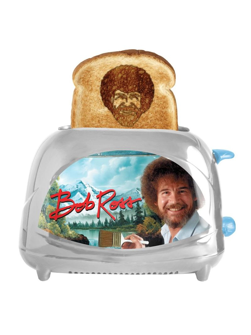 The Bob Ross Toaster Is Available On Our Grendz Store