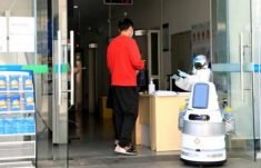 Japanese startups rush to develop service robots for medical use