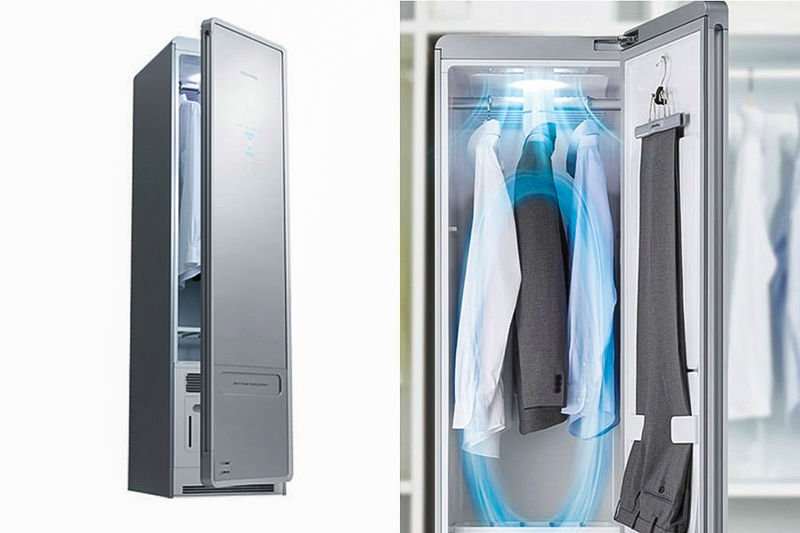 Clothing purifier wardrobe appliance