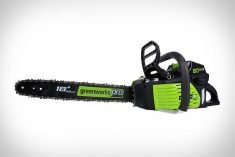 The Greenworks Pro Cordless Chainsaw