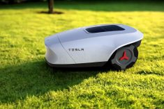 The Conceptual 'Tesla G' Lawnmower