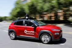 Self-driving vehicles get in on the delivery scene amid COVID-19