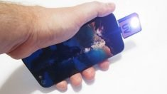 This Smartphone UV Flashlight Can Reveal Hidden Contaminants