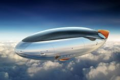 The Conceptual 'S.H.A.R.K.' Airship