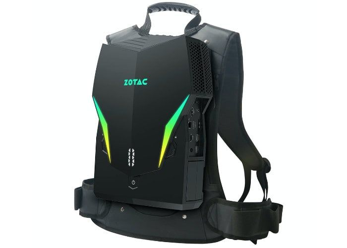 The ZOTAC VR GO 3.0 Gaming Backpack PC