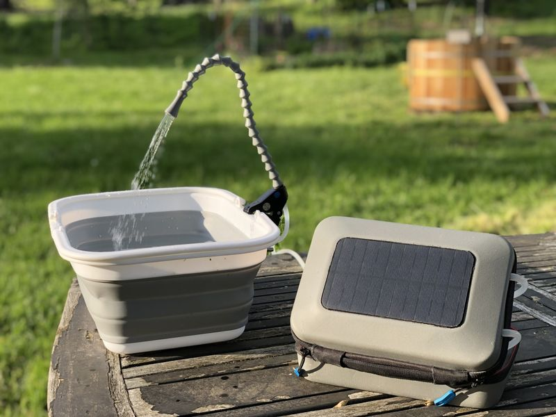 The GoSun 'Flow' Cleans Water for Drinking and More