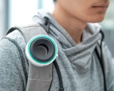 The 'Aero' Portable Air Quality Monitor