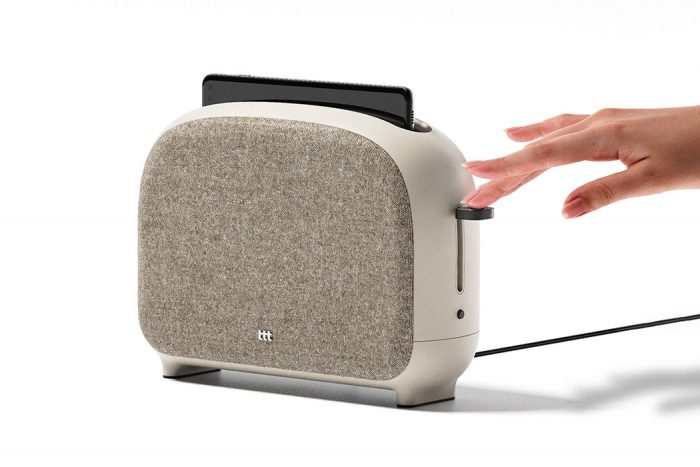 This neat toaster actually is a smart appliance that disinfects your phone.