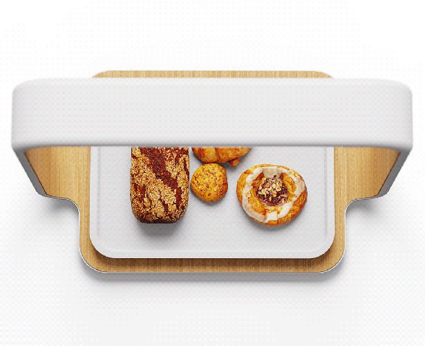 This AI Scanner Concept Accommodates Bakeries without Employees