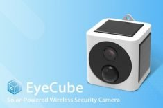 The 'EyeCube' Solar-Powered Wireless Security Camera