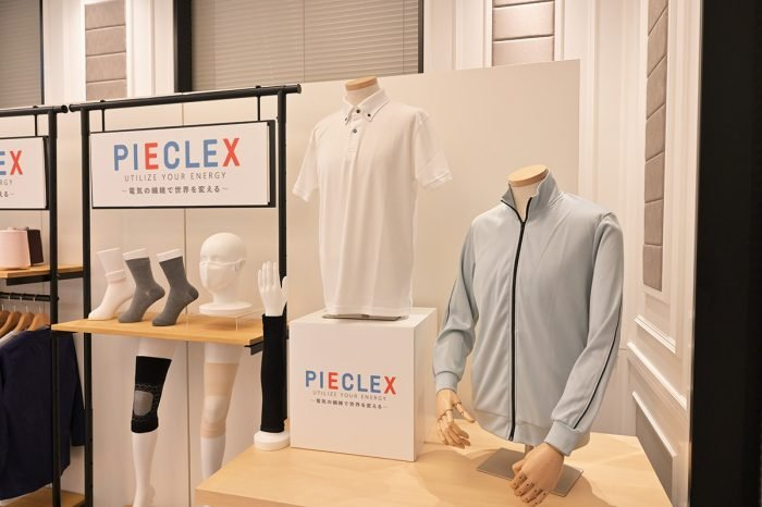PIECLEX: A fabric that makes use of the piezoelectric technology.