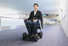 Personal mobility machines deployed at Tokyo airport