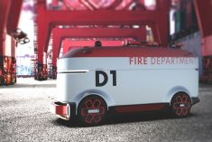 An Autonomous Fire-Fighting Robot Vehicle
