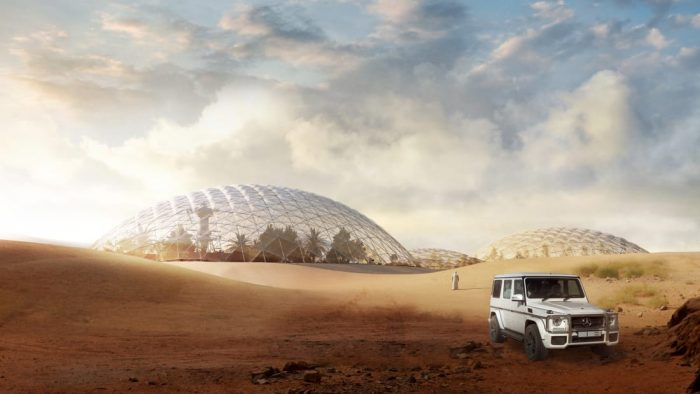 A Martian city for the desert outside Dubai