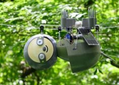 The 'SlothBot' Monitors the Environment