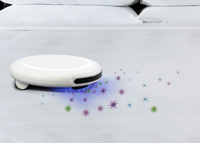The Z4E0 Disinfection Robot Vacuum Cleaner