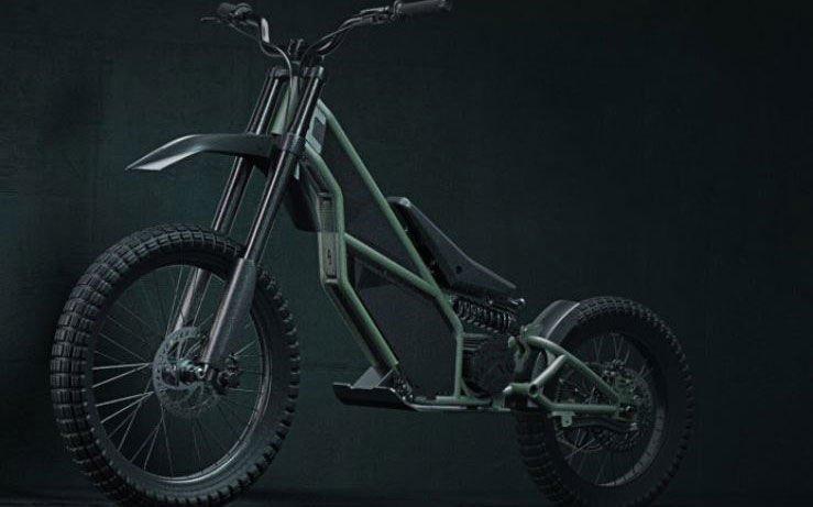 The Kuberg Ranger Hybrid Dirt Bike Scooter