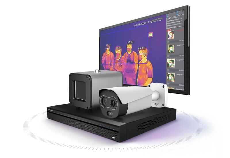 The Amcrest Thermal Body Temperature Camera System
