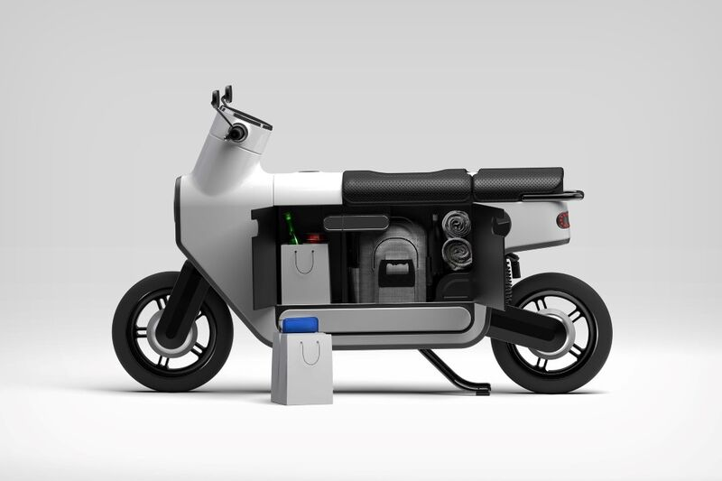 The Conceptual 'Commooter' Scooter