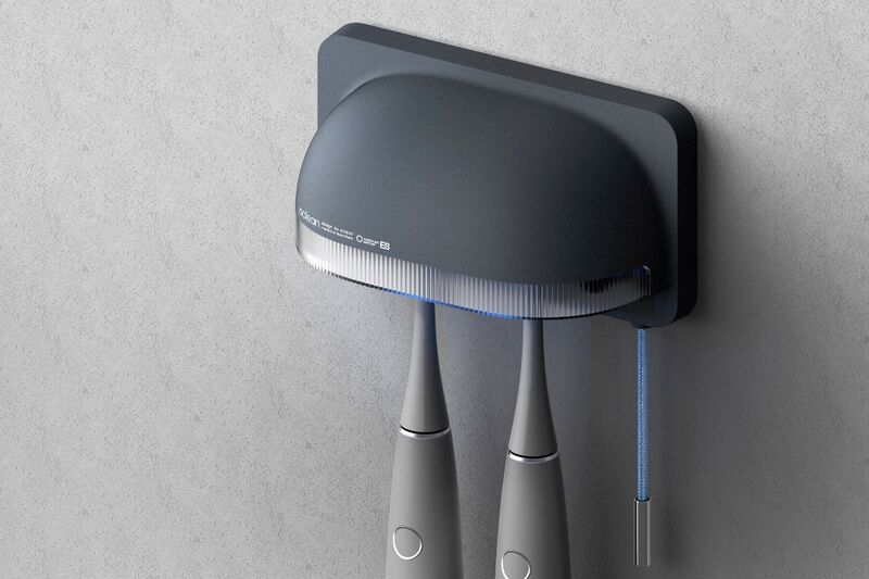 The Conceptual 'Oclean Bloom Slim' Kills Germs in 30 Seconds