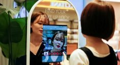 Amorepacific's In-Store Mirror Limits Consumer Interaction with Staff