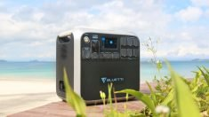 The Bluetti AC200 Portable Solar Power Station