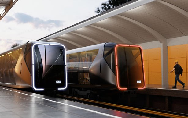 The 'Metro Train of The Future'
