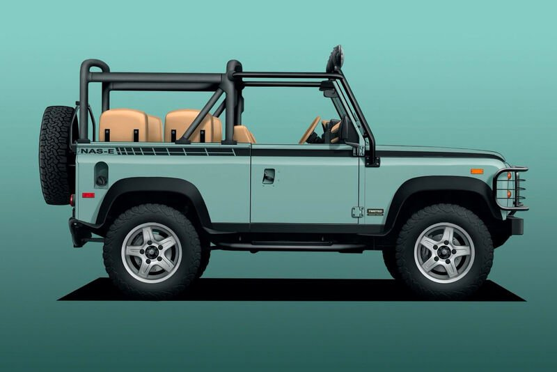 The Electrified Defender 90