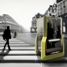 The Conceptual 'OTO' Autonomous Shared Vehicle