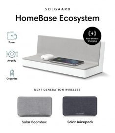 Solgaard's Wireless Charging Ecosystem Uses Ocean Plastic Materials