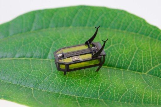 Scientists build methanol-powered beetle bot
